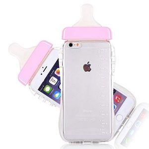 Pink Baby Bottle Case